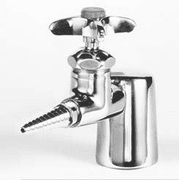 Watersaver Faucet Single Turret Fitting 4IN L2800-131WS