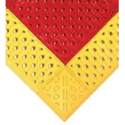 Wearwell Mat Emerg Show 30X36IN RED/YEL 465.78x30x36RY