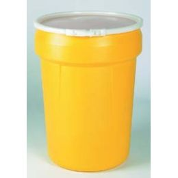 Salvage Drum,Open Head,20 gal.,Yellow EAGLE 1650