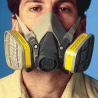 3M Respirator 1/2FACE Facepiece L 6300