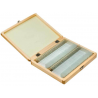 Barska 100 Prepared Microscope Slides w/ Wooden Case
