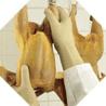 Best Manufacturing Glove Amber Latex Lrg PK12PAIR VMUL-09