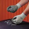 Best Manufacturing Gloves Nat Rub Wrinkle Sm PK12 3811-07