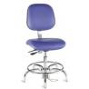 Bio Fit Cleanroom/ESD Chairs, 4V Series, BioFit 4V57KSTRVUV Class 100 Cleanroom/ESD Chairs (Ship Now! Models)
