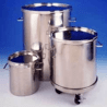 Eagle Stainless Container CONT,STD,CVR+LK LEV,10L,T316L CTL-24