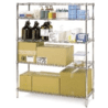 Intermetro Industries 18X24 Wire SHELF-STAINLESS 1824NS