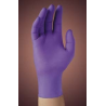 Kimberly Clark MICROGRIP PURPLE NITRILE Poly-Coated Powder-Free Gloves 40101-348