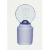 Kimble/Kontes KIMAX Glass Pennyhead [ST] Stoppers, Flask Length, Kimble Chase 41900R 13