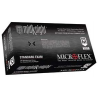 Microflex Glove Black Pf Nitrile L PK100 MK-296-L