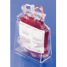 Mitchell Plastics Holder Bloodbag Acrylc B 12pk SBBHB-12