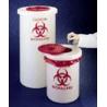 Nalge Nunc Biohazardous Waste Containers, NALGENE 6370-0015
