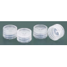 Nalge Nunc Closures for NALGENE Micro Packaging Vials, PPCO, Sterile, NALGENE 342820-0119 Natural Closures