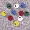 Nalge Nunc Cryogenic Vial Closure Color Coders, Polystyrene, NALGENE 5045-0002