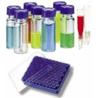 National Scientific Target DP 9-425 Screw-Thread Vials, National Scientific CERT4000-75W Unassembled Vial Kits, Certified Amber Id Vials