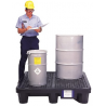 UltraTech International, Inc. 2-drum Economy Spill Pallet W 877-2505