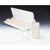 Pall Petri Dishes, 50mm, Sterile, Pall Life Sciences 7245 With Preloaded Absorbent Pad