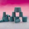 Plasticoid Green Neoprene Stoppers, Solid 3--M350