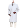 Superior Uniform Unisex Microstat ESD Lab Coats, WORKLON 463-L White Knee-Length Coats