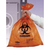Tufpak Autoclavable Biohazard Bags, 2.0 mil 14220-048 Orange Bags With Indicator