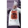 VWR Autoclavable Biohazard Bags, 1.5 mil 14220-014 Clear Bags, Printed