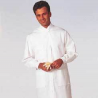 White Swan Unisex MetaGuard Lab Coats, White Swan/Meta 1165-311-XXL Knit Cuffs And Open Neck