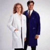 White Swan Unisex Polyester/Cotton Lab Coats, White Swan-Meta 6116-11-XXL