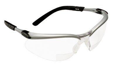 3M 11513-00000-20 Safety Reader Glasses,+1.5,Clear,Antifog